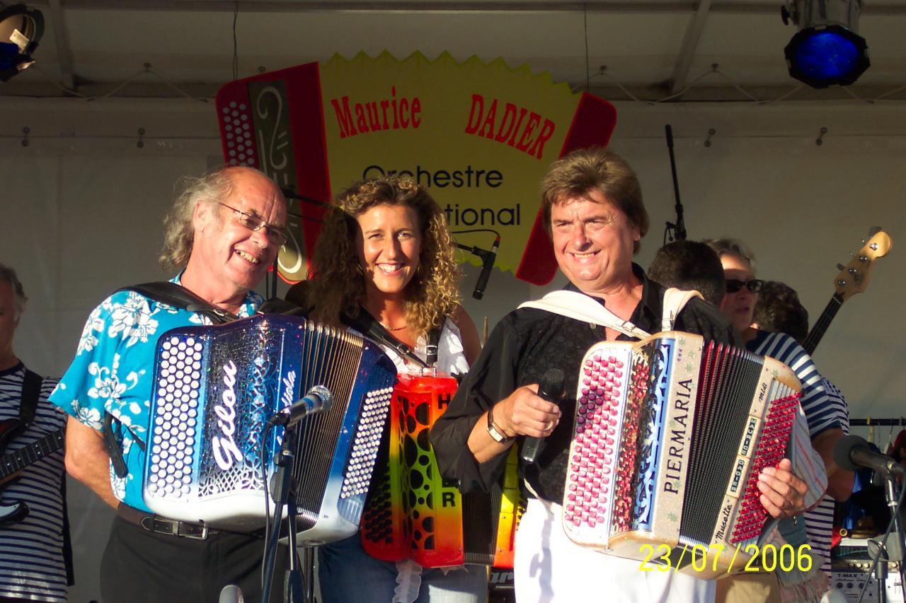 Avec Gilou et Maurice DADIER