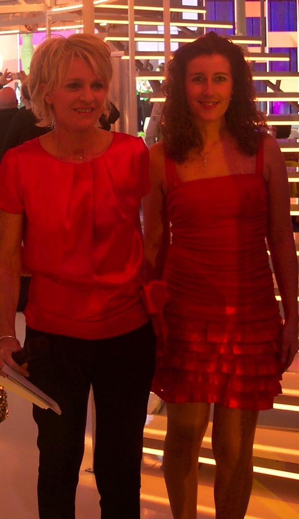 Avec Sophie DAVANT