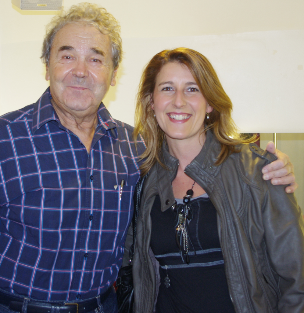 Avec Pierre PERRET