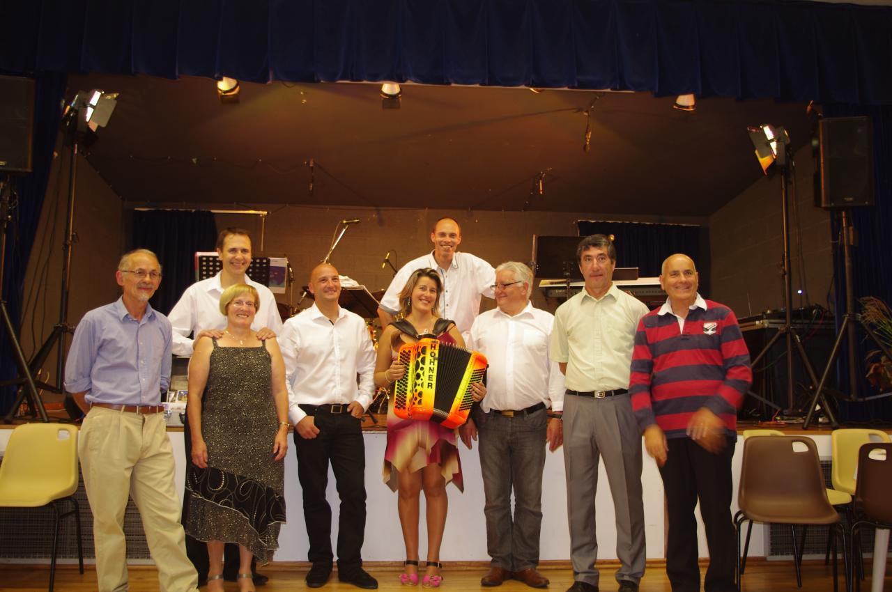 Orchestre et membres de l'organisation