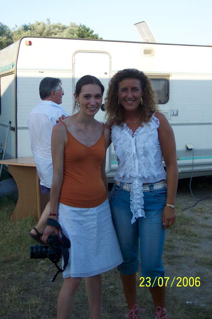 Avec Caroline LINANT